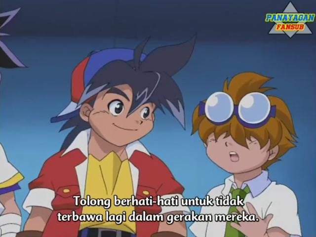 B-Shoot Beyblade Subtitle Indonesia