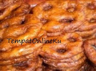 kue cincin gula merah khas kalimantan selatan