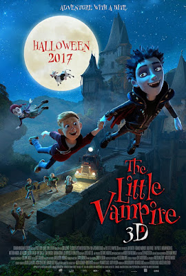 The Little Vampire 3D Poster