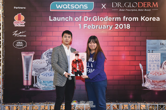SEUNGRI MEET GREET Dr. Gloderm Watsons Photo @ 1Utama Shopping Mall #SEUNGIINMY
