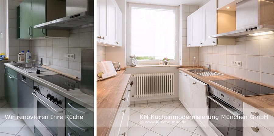 Wir renovieren Ihre Küche : Zeyko Kueche - neue Fronten ...