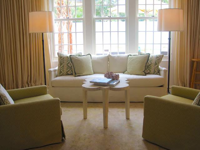 sunbrella fabric sectional sofas rugs with dark grey sofa tour of coastal living's 2012 ultimate beach house ...