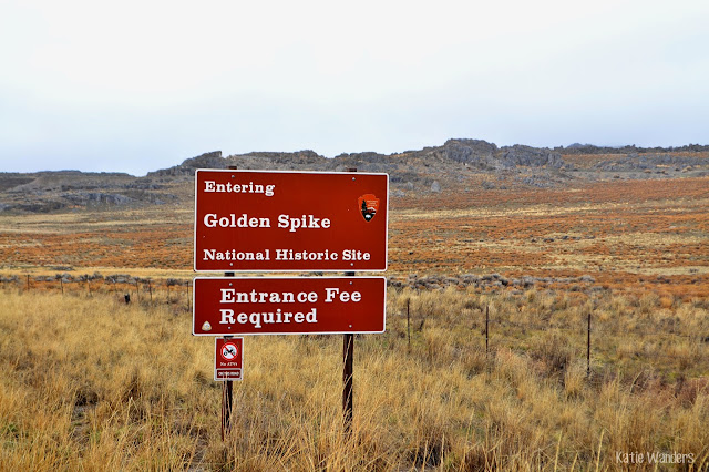 entrance to Golden Spike