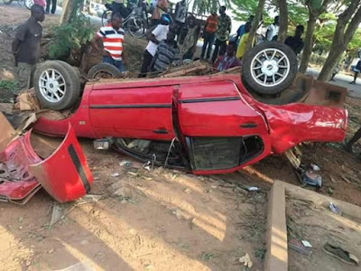 Graphic Photos: Four Final Year Nursing Students Killed In Fatal Auto Crash 14