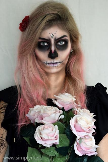 Propozycja Halloween'owa - skull makeup