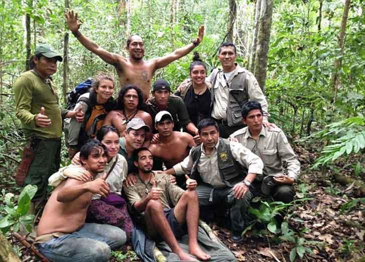 lost in rainforest amazon bolivia