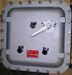 Explosion proof control system