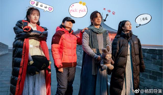Ever Night 2 Cast Yuan Bingyan Marco Chen Kang Keren