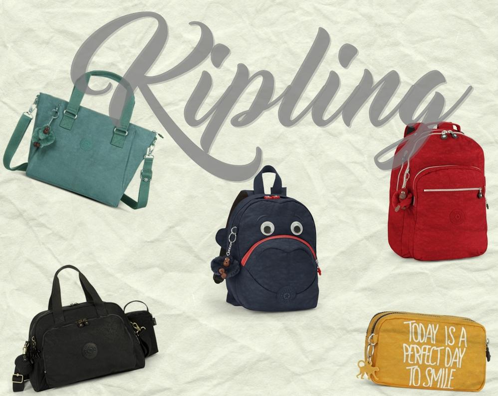 95917cacb KIPLING: Como usar bolsas no dia-a-dia | Stragonapolina