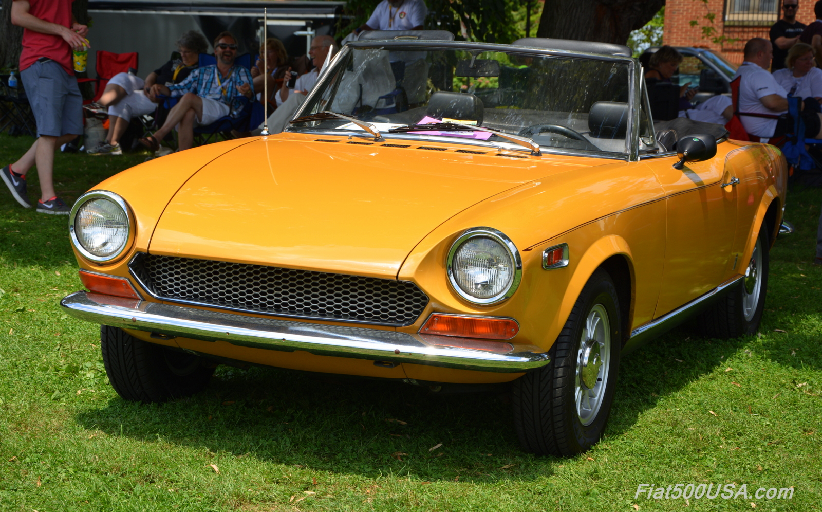 Fiat 124 Spider Celebrates 50 Years Fiat 500 Usa