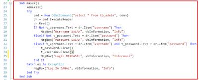 12 - Part2 Menciptakan Aplikasi Hotel Dengan Vb.Net + Database Mysql – Menciptakan Form Login