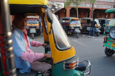 Tuk tuk murah ala Jaipur di India