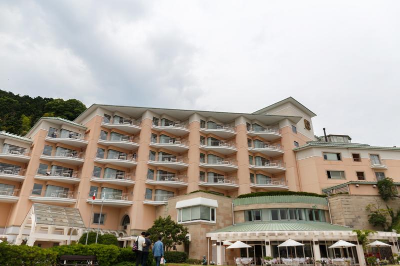 淡島ホテル全景