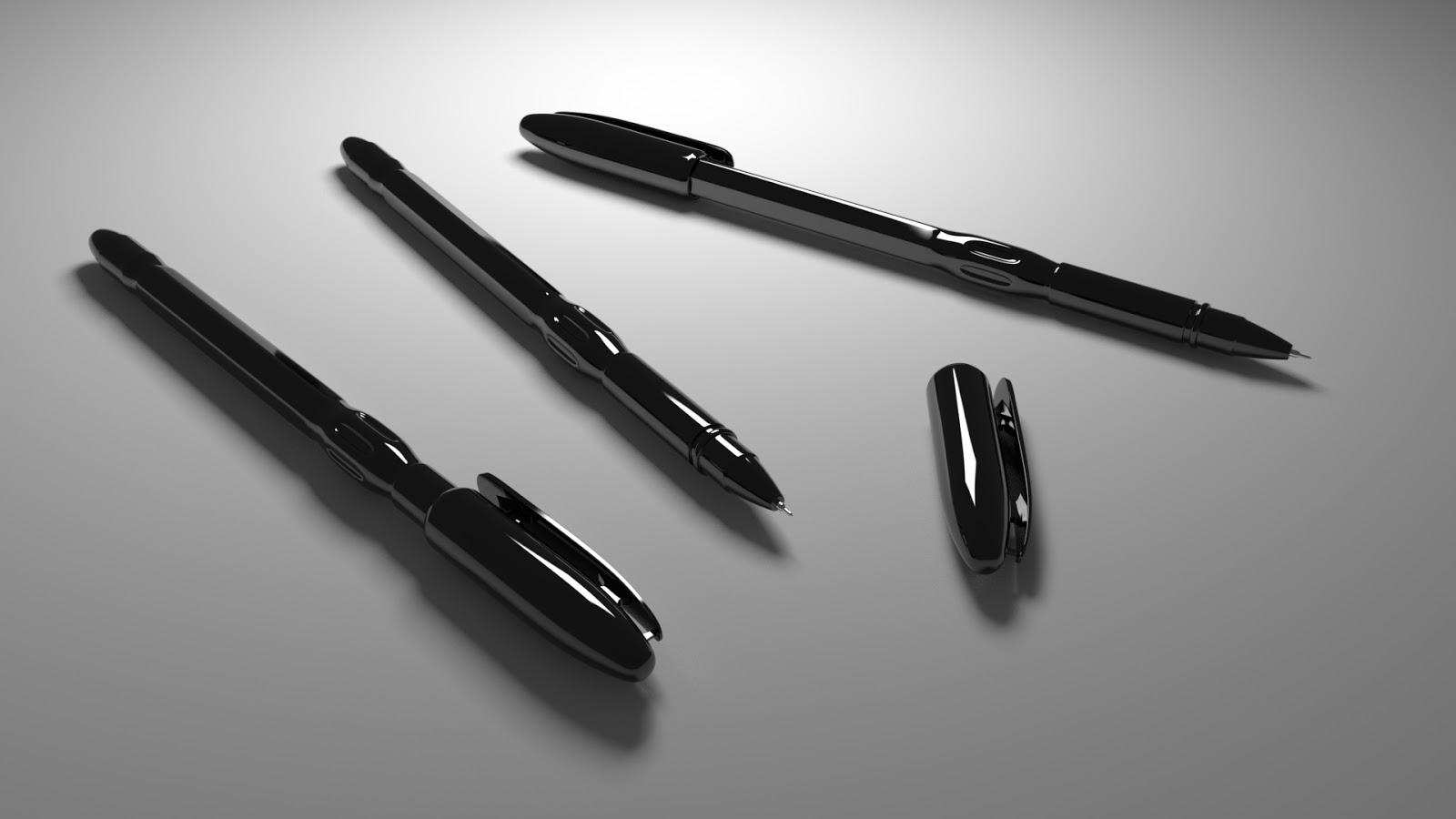 Free 3D Pen .blend file
