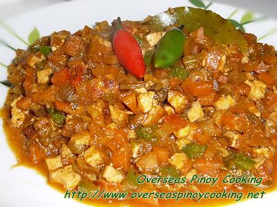 Vegetarian Bopis