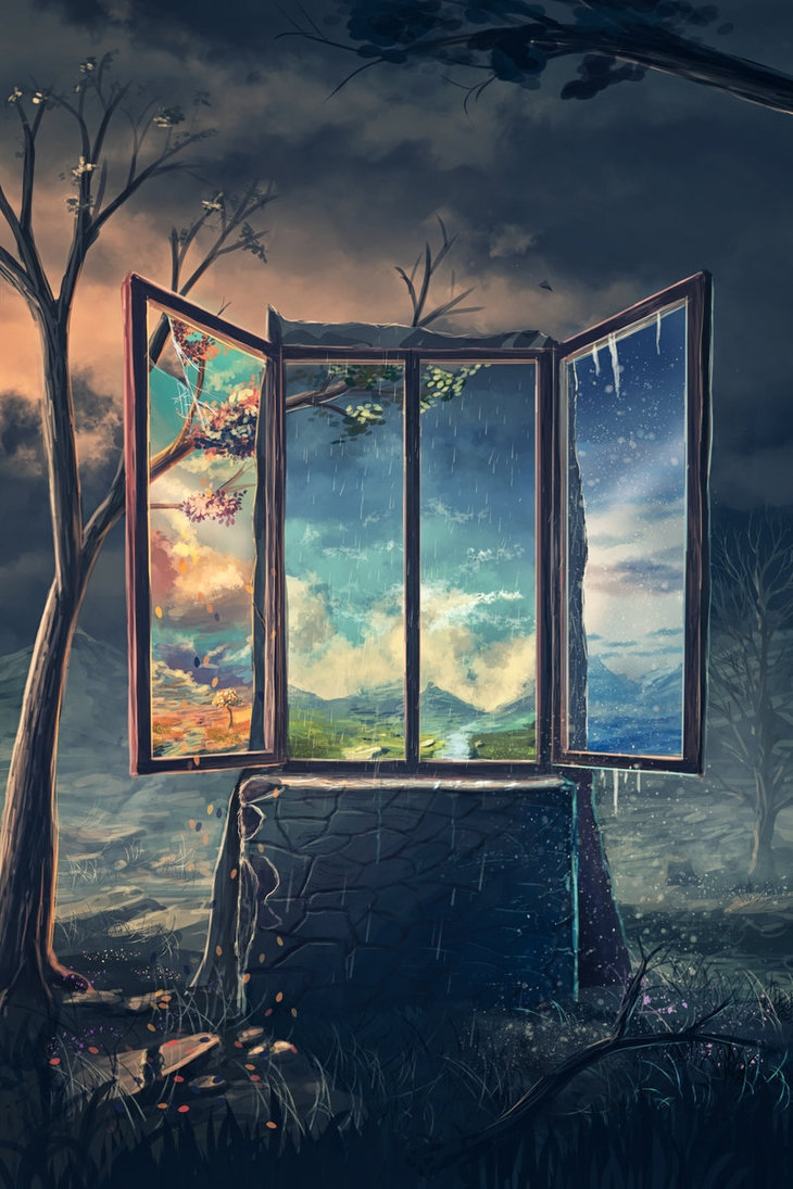 02-Speedpaint-A-window-into-the-World-Sylar113-A Mixture-of-Surrealism-and-Fantasy-Digital-Art-www-designstack-co