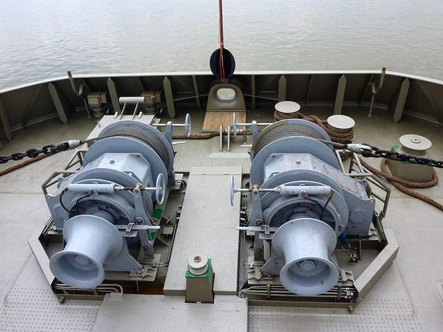 SHIP SKILLS: Windlass Maintenance On Ships