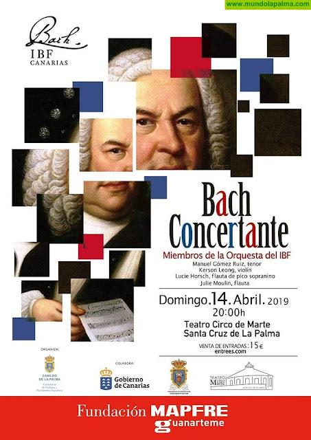 Bach Concertante en el Teatro Circo de Marte