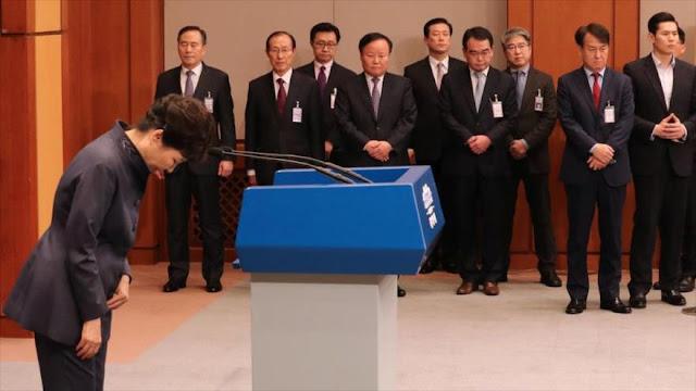 Pyongyang le echa en cara a Seúl el escándalo de la presidenta