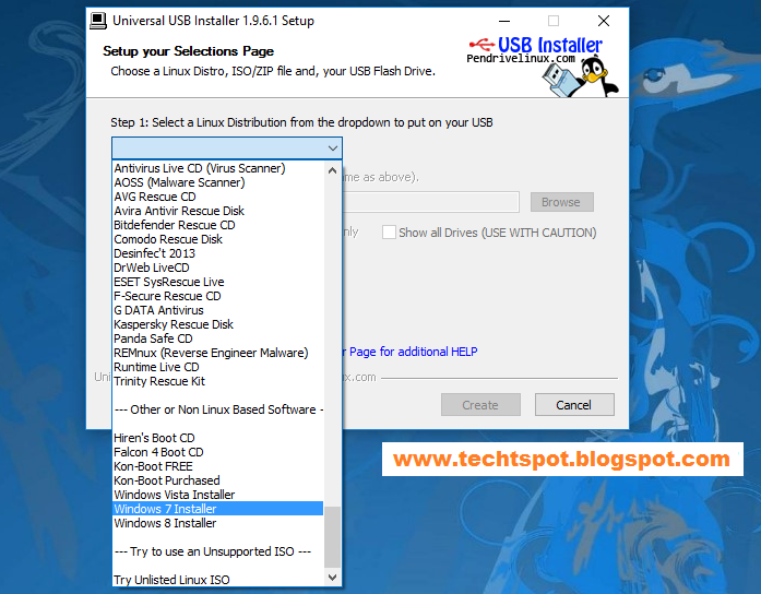 bootable software for windows 7