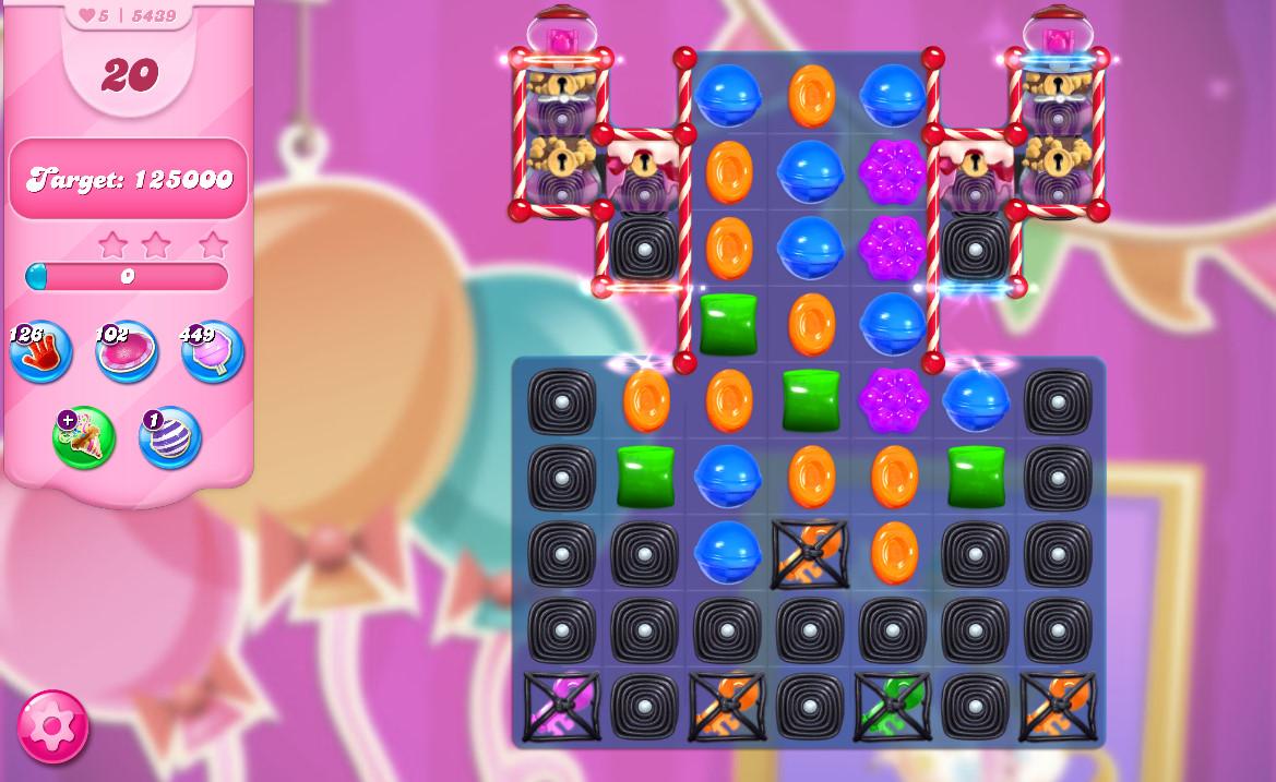 Candy Crush Saga level 5439