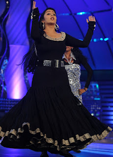 Charmi Kaur Dancing Pictures in Black Dress