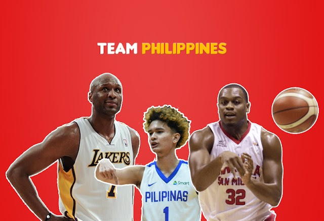 Philippines line-up for Dubai International Basketball Championship