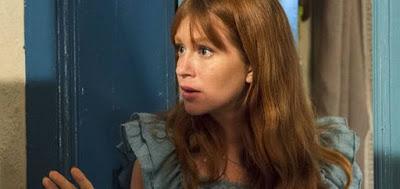 Luz (Marina Ruy Barbosa) em cena da novela das nove da Globo; mocinha descobrirá morte do médico