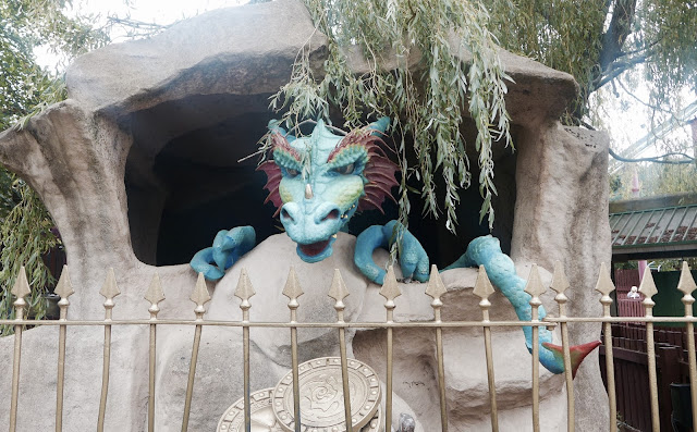 Photo of Chessington World of Adventures Animatronic Dragon