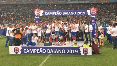 Bahia 1 x 0 Bahia de Feira, Campeonato Baiano - Final