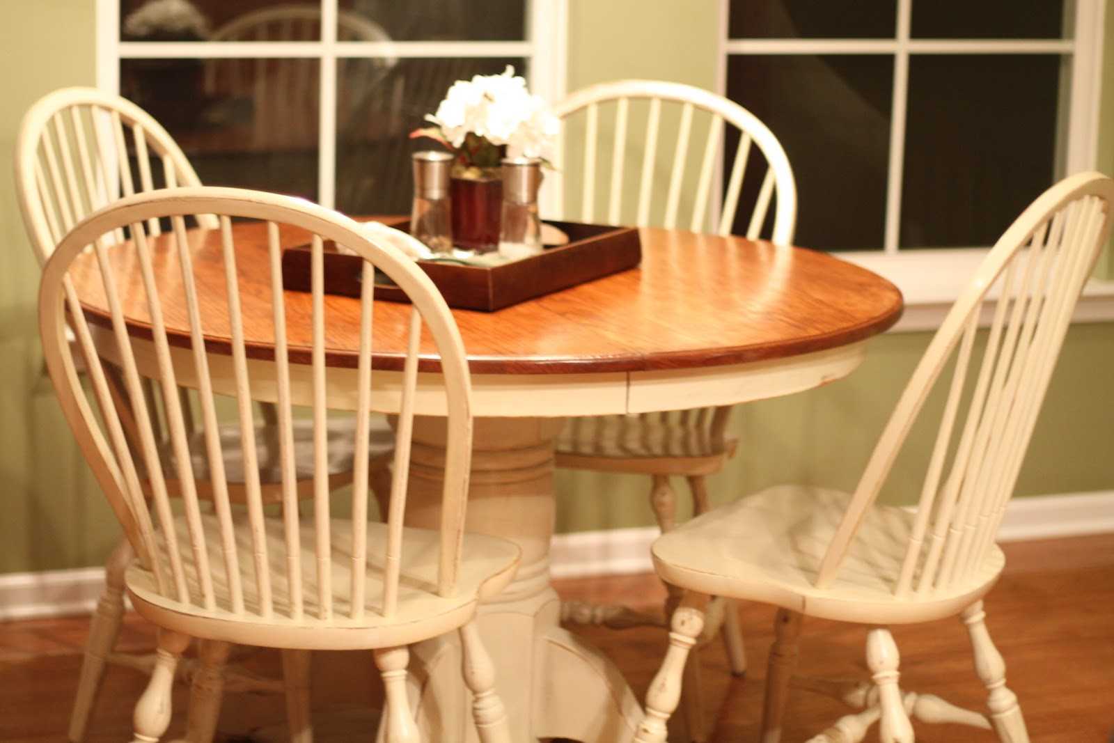 Notes from Kristen: Refinished Kitchen Table