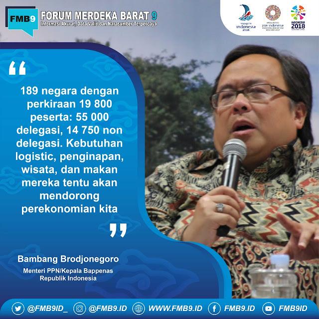 dampak ekonomi imf-wbg 2018 di indonesia