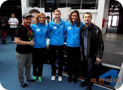 cu fetele de la SCM Craiova