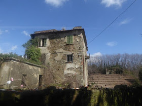 Casa Arsà sul sentiero 226 a La Spezia