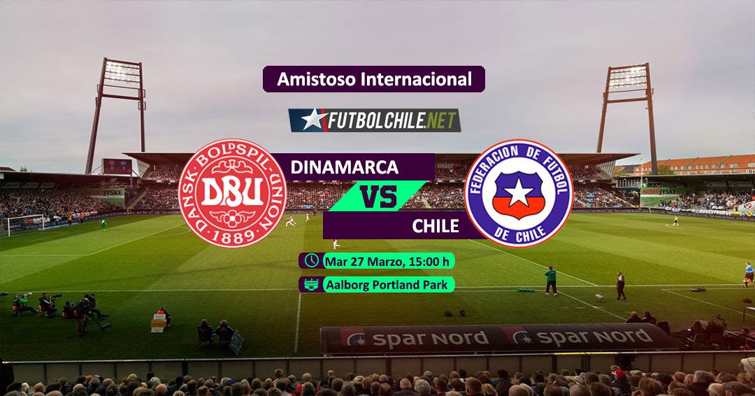 Dinamarca vs Chile: Previa, horario, dónde ver en vivo por TV y online por la Fecha FIFA
