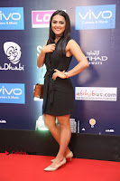 Actress Shraddha Srinath Stills in Black Short Dress at SIIMA Short Film Awards 2017 .COM 0025.JPG