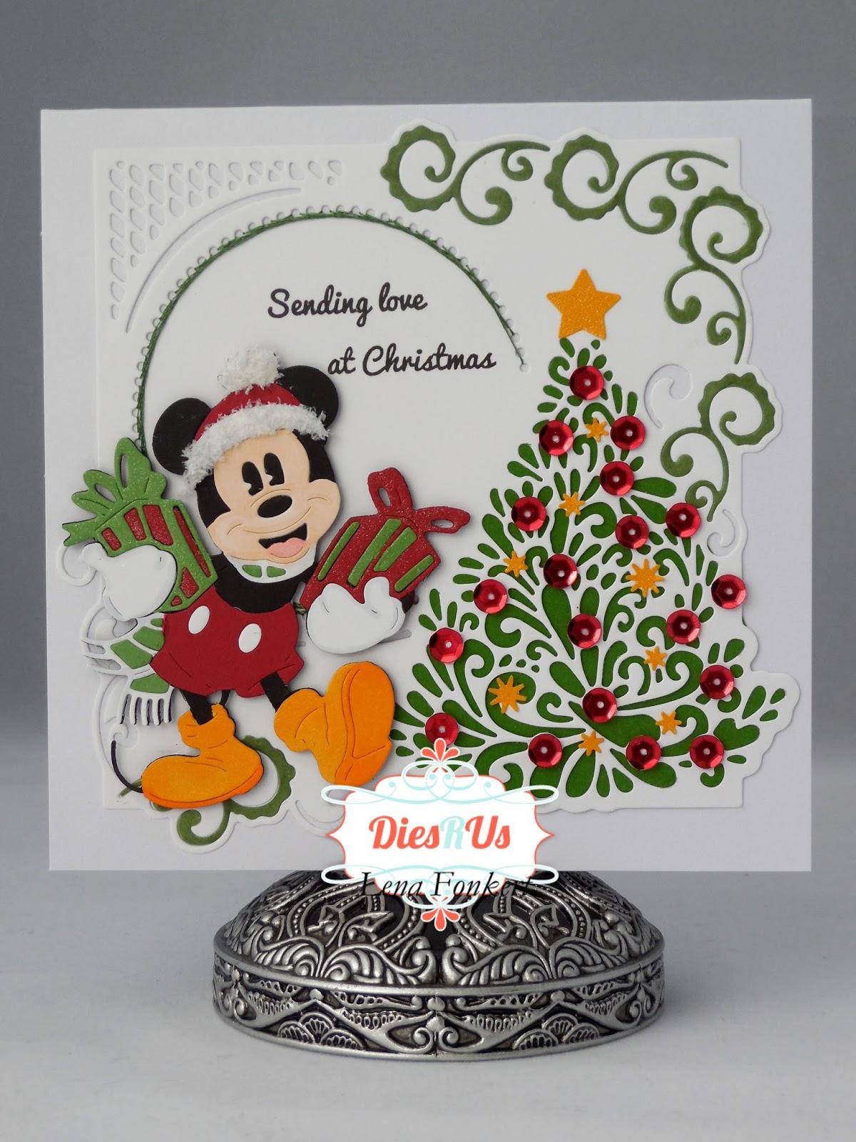 Dies R Us: It\'s a Mickey Christmas