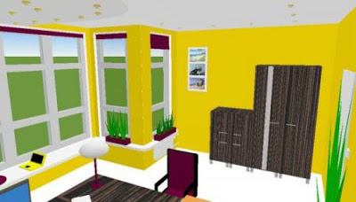 He designed the interior of your home with Room Arranger 1