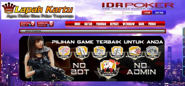 Situs Judi Poker Online IDR PKVgames 100% Original Terpercaya - IDRPoker