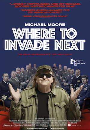 Poster Where to Invade Next 2015