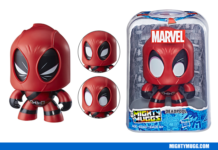 Deadpool Marvel Mighty Muggs Wave 2018