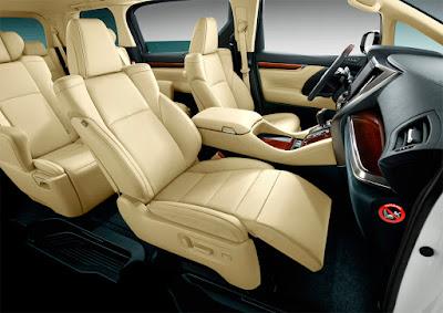 Toyota Alphard MPV interior image