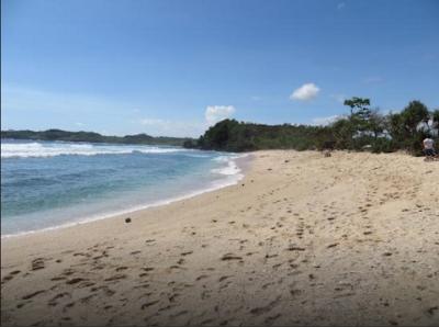 panorama pantai gondo mayit blitar
