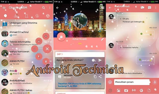 Download BBM Mod Love Story v3.0.1.25 Apk Terbaru