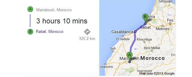 تعرف عن المسافة الفاصلة بين كل مدينتين او دولتين بسهولة مع جوجل