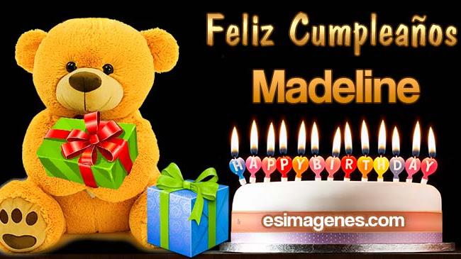 Feliz Cumpleaños Madeline
