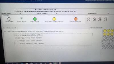 Contoh-Contoh Soalan Peperiksaan Penolong Pegawai Tadbir N29 SPA8i Online