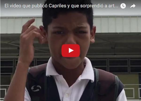 Niño rapero le lanza duro a Maduro