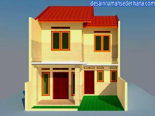 Desain Rumah Sederhana untuk Renovasi KPR-Type 21 Standard Lahan 60 M2