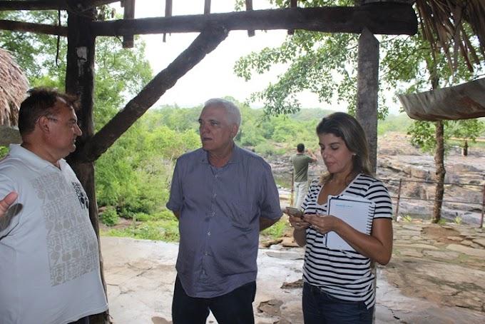 Themístocles Filho está viabilizando a reforma do Parque Cachoeira do Urubu